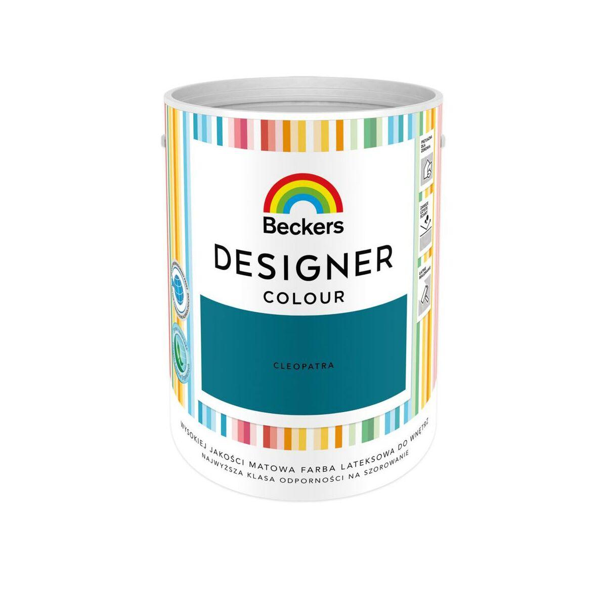 Farba Wewnetrzna Designer Colour 5 L Cleopatra Beckers Farby Scienne Kolorowe W Atrakcyjnej Cenie W Sklepach Leroy Merlin