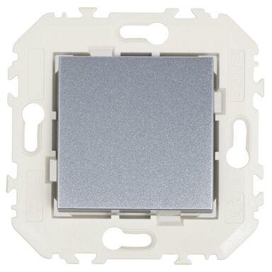 Włącznik pojedynczy schodowy QUADRO Aluminium  EFAPEL