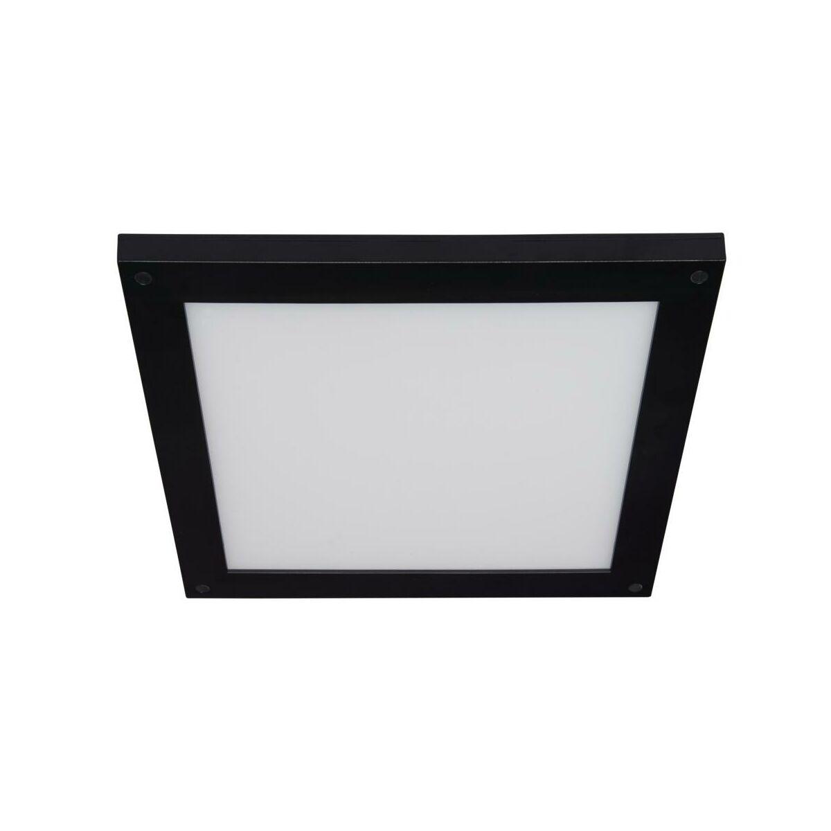 Panel Led Gdansk Ip44 30 X 30 Cm Czarny Inspire Panele Led W Atrakcyjnej Cenie W Sklepach Leroy Merlin