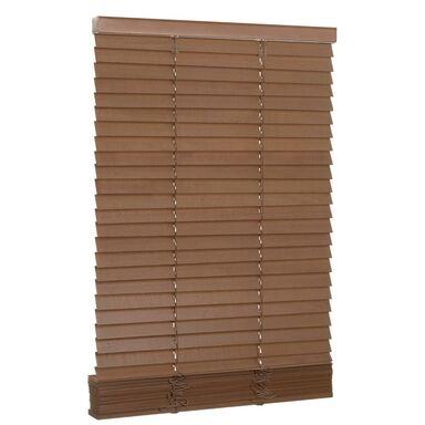 Żaluzja drewniana 60 x 150 cm dąb 27 mm INSPIRE