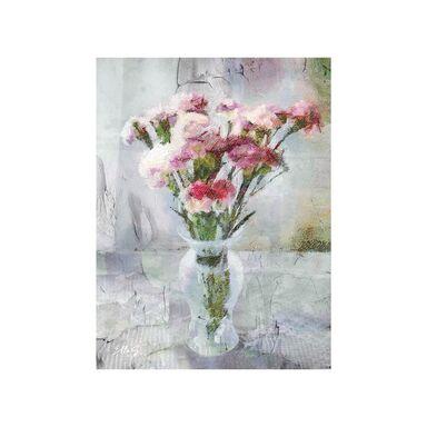 Kanwa PINK FLOWERS 60 x 80 cm