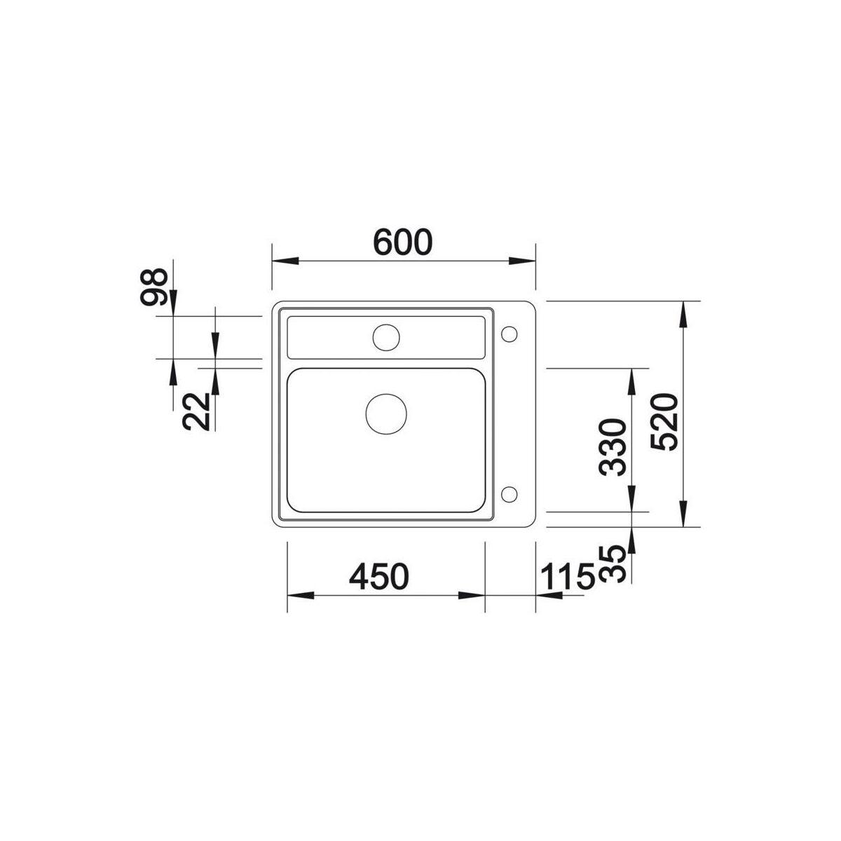 zlewozmywak statura 6 if crystal blanco sprawd opinie w leroy merlin. Black Bedroom Furniture Sets. Home Design Ideas