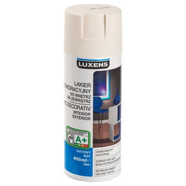 Spray KOLOR 0.4 l Kremowy Mat LUXENS