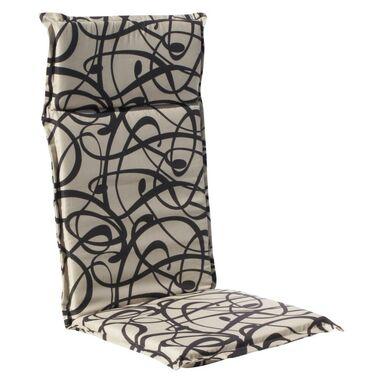 Poduszka na fotel 47 x 121 x 4.5 cm CINO brązowa