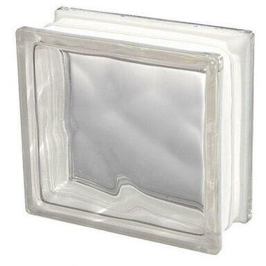 Pustak szklany CHMURKA 1908 / W szer. 19 cm x gł. 8 cm SEVES BASIC