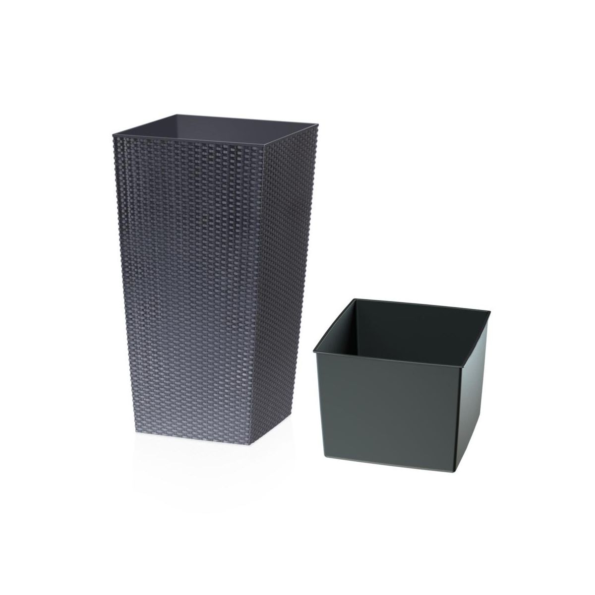 os onka rato square 26 5 x 26 5 cm prosperplast os onki w atrakcyjnej cenie w sklepach leroy. Black Bedroom Furniture Sets. Home Design Ideas