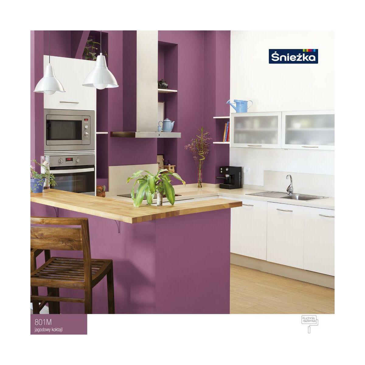 Farba lateksowa do ścian i sufitów KUCHNIA I ŁAZIENKA   -> Kuchnia Z Leroy Merlin Opinie