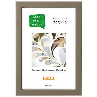 Ramka na zdjęcia Pinia 10 x 15 cm kawowa drewniana