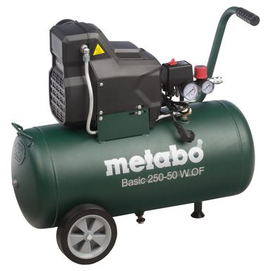 Kompresor bezolejowy Basic 250-50 50 METABO