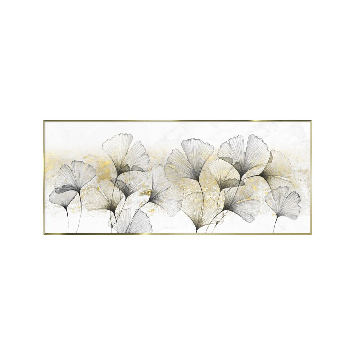 Obraz Na Szkle W Ramie Ginko Glod 125 X 50 Cm Obrazy Kanwy W Atrakcyjnej Cenie W Sklepach Leroy Merlin