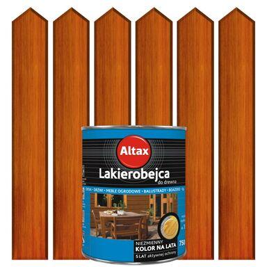 Lakierobejca do drewna 0,75 lKasztan ALTAX