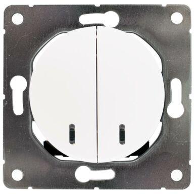 Włącznik pojedynczy SEU1026W  biały  DPM