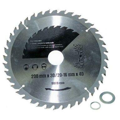 Tarcza do pilarki tarczowej CON-TCT- 40X60 śr. 400 mm  60 z CONDOR