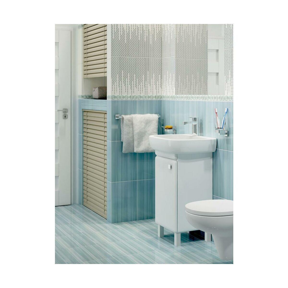 umywalka facile 50 cm cersanit umywalki w atrakcyjnej. Black Bedroom Furniture Sets. Home Design Ideas