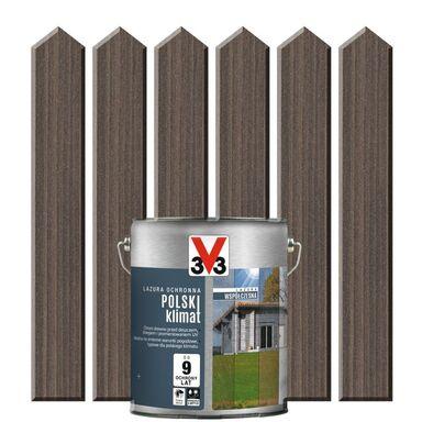 Lazura do drewna POLSKI KLIMAT WSPÓŁCZESNA 2,5 lSrebrny cedr V33