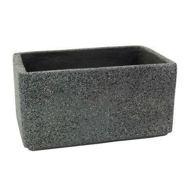 Doniczka betonowa 47 x 28 cm grafitowa MBS SKRZYNKA CERMAX