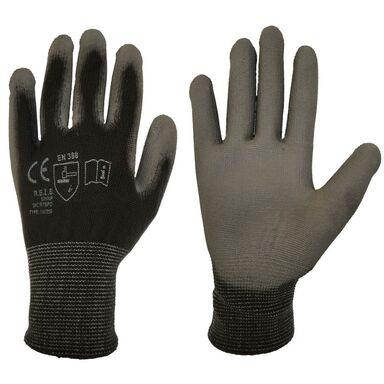 Rękawice ochronne r. XS / 5 poliestrowe z powłoką poliuretanową