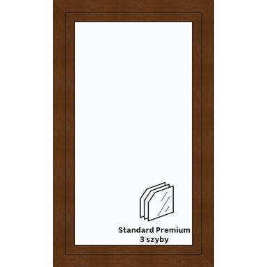 Okno PCV 3-szybowe O31 Złoty dąb 865 x 1435 mm