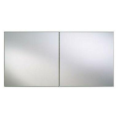Lustro łazienkowe bez oświetlenia FLIZY SREBRO 10 x 10 DUBIEL VITRUM
