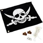 Flaga pirat z systemem podnoszenia szer. 55 x wys. 45 cm KBT