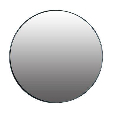 Lustro Okrągłe Rondo Czarne śr 40 Cm