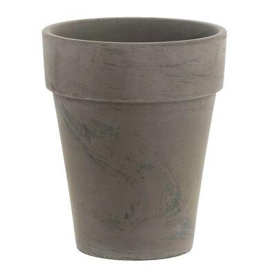 Doniczka gliniana 31 cm szara BASALT XL CERMAX