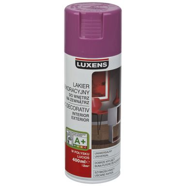 Spray KOLOR Liliowy 0,4 l  LUXENS