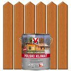 Lazura do drewna POLSKI KLIMAT 5 l  Sosna oregońska V33