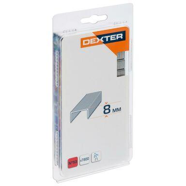 Zszywki TYP53 7800 szt. 11.4 / 8 mm DEXTER