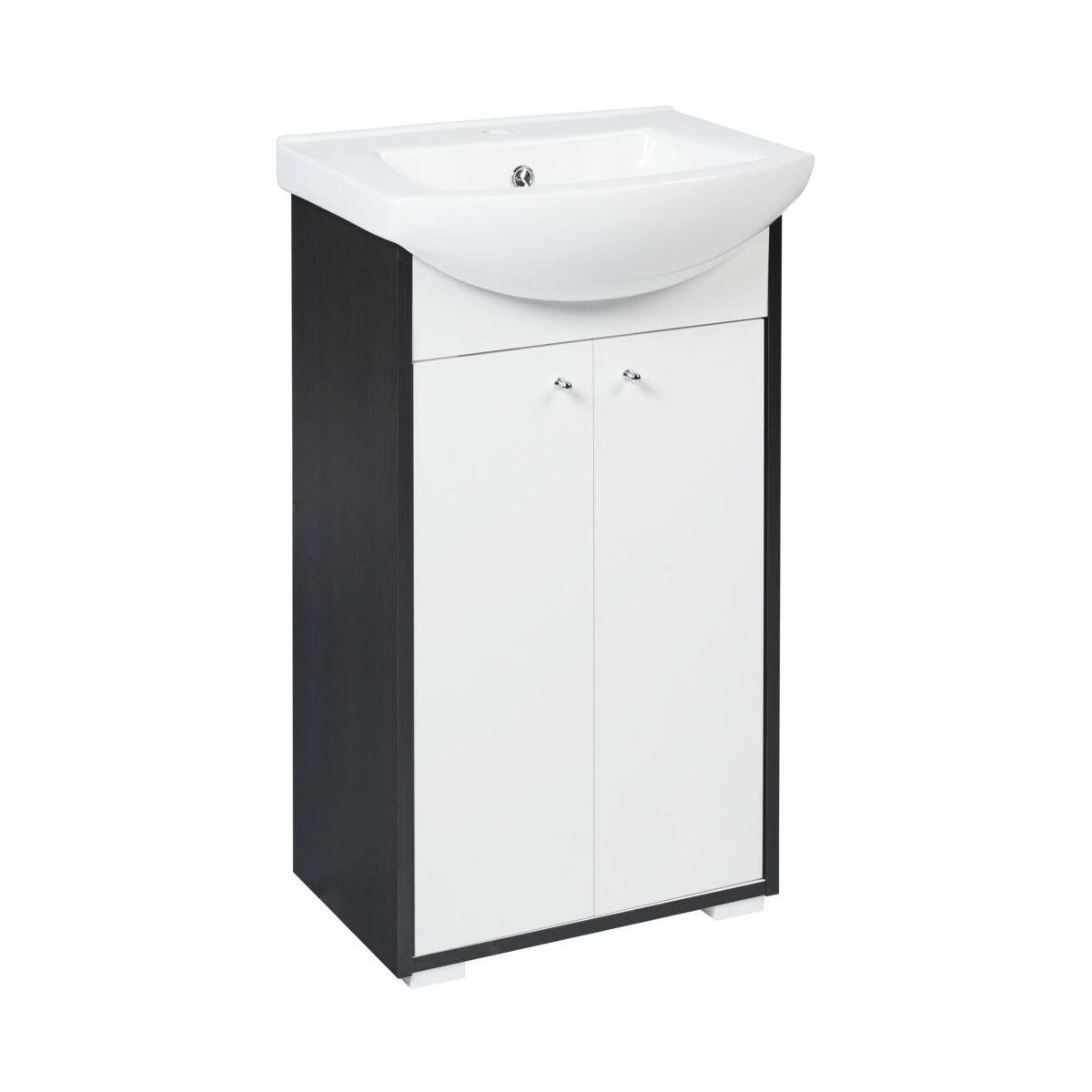 Zestaw mebli łazienkowych z umywalką TIGRE NEW SENSEA