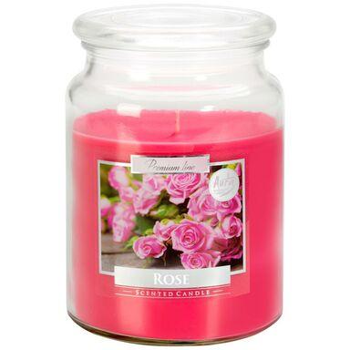 Świeca zapachowa w słoju ROSE róża