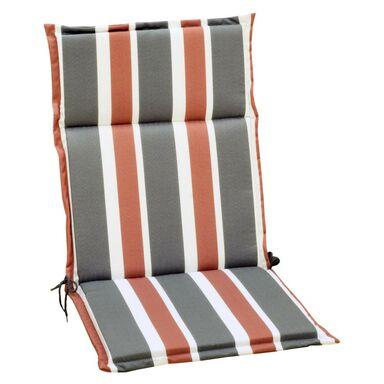 Poduszka na krzesło 107 x 47 x 4.5 cm CINO pasy