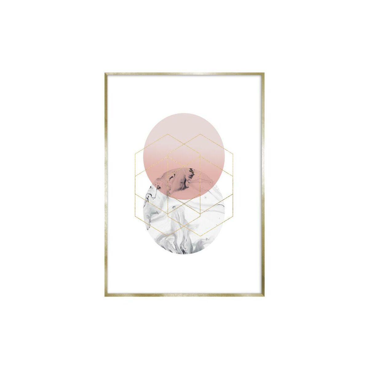 Obraz Circle 30 X 40 Cm Obrazy Kanwy W Atrakcyjnej Cenie W Sklepach Leroy Merlin