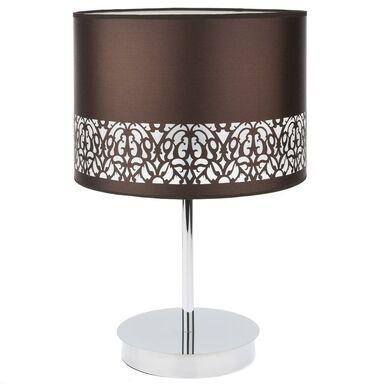 Lampa stołowa ARABESCA brązowa E27 CANDELLUX