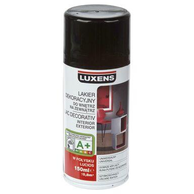 Spray KOLOR Czarny 0,15 l  LUXENS