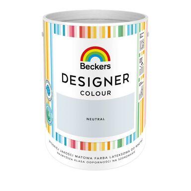 Farba wewnętrzna DESIGNER COLOUR 5 l Neutral BECKERS