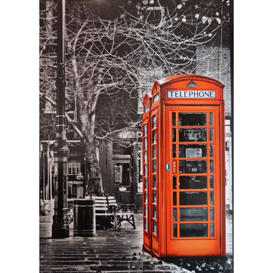 Fototapeta RED TELEPHONE 254 x 183 cm