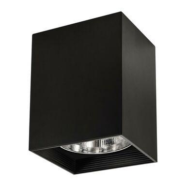 Oprawa natynkowa JUPITER 13.6 x 19 cm czarna E27 POLUX