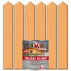 Lazura do drewna POLSKI KLIMAT 0.75 l Sosna skandynawska V33