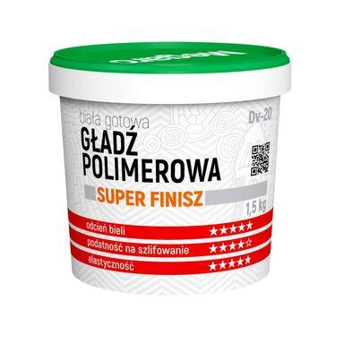 Gotowa gładź polimerowa Super Finisz DV-20 1.5 kg Megaron