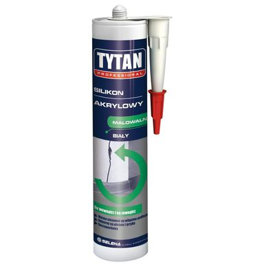 Silikon AKRYLOWY 310 ml Biały TYTAN
