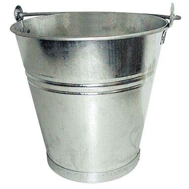 Wiadro metalowe ocynkowane 14 L