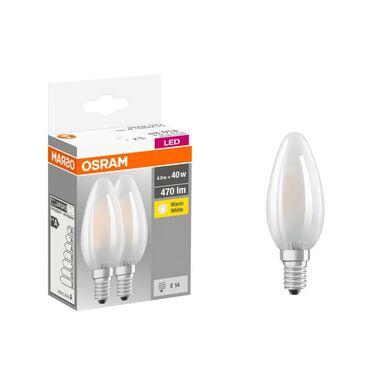 Żarówka LED E14 2 szt. (230 V) 4 W 470 lm Ciepła biel OSRAM