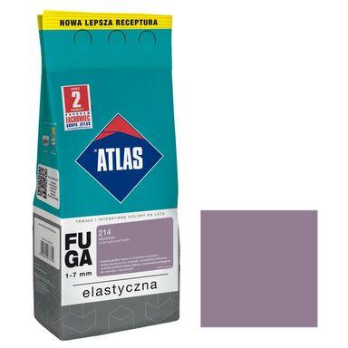 Fuga cementowa 214  wrzosowy  2 kg ATLAS