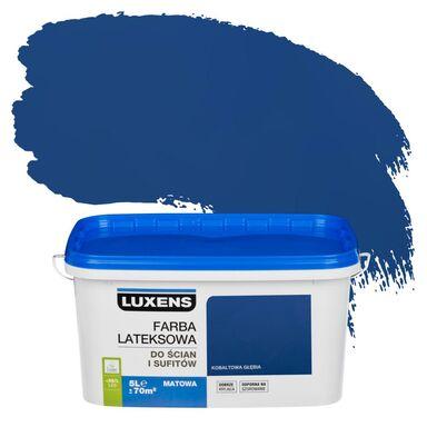 Farba wewnętrzna EMULSJA 5 l Kobaltowa głębia LUXENS