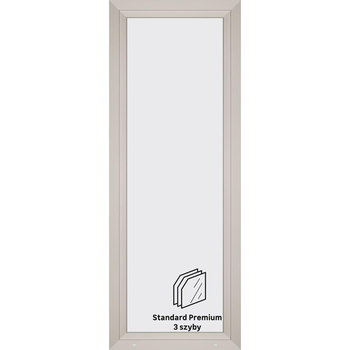 Okno Pcv 3 Szybowe Balkonowe Ob8 Biale 865 X 2295 Mm Okna Pvc W Atrakcyjnej Cenie W Sklepach Leroy Merlin