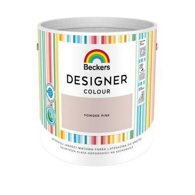 Farba wewnętrzna DESIGNER COLOUR 2.5 l Powder pink BECKERS