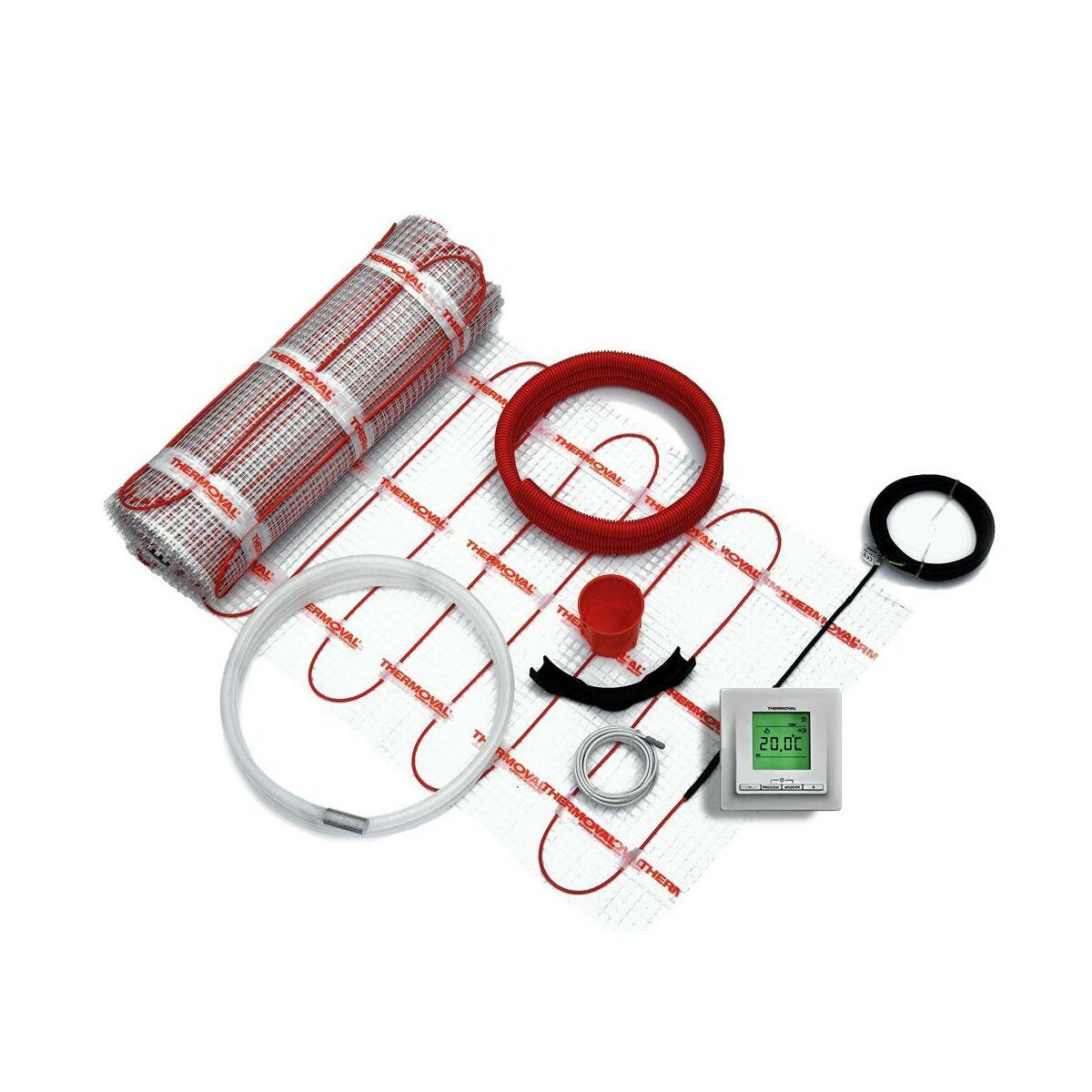 Zestaw Grzewczy Z Regulatorem 1360 W 8 M2 Thermoval Ogrzewanie Podlogowe Elektryczne W Atrakcyjnej Cenie W Sklepach Leroy Merlin