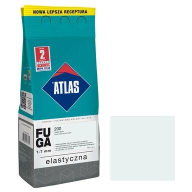 Fuga cementowa 200  zimny biały  2 kg ATLAS