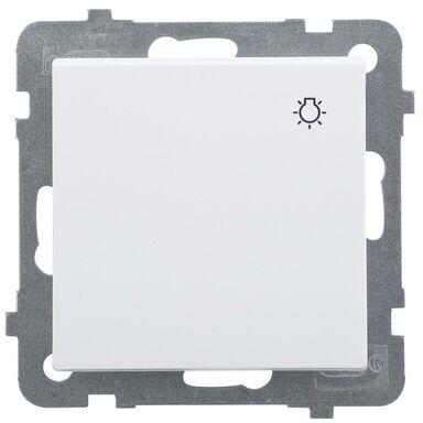 Przycisk światło SONATA  biały  OSPEL